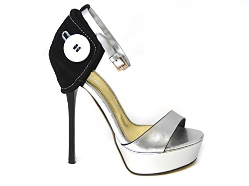 Donna 058 Scarpe Tacco Col Silver Prices Low Designs f8 Sko's Various Exclusively wRg88v