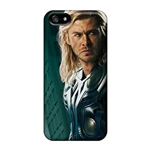 Excellent Iphone 5/5s Case Tpu Cover Back Skin Protector The Avengers Thor