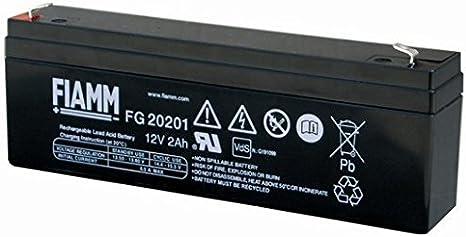 FIAMM FG20201 2Ah 12V batería UPS