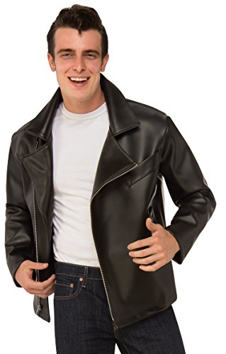 Rubie's Men's Grease, T-Birds Plus Jacket, As Shown, One (The Birds Costume Male)