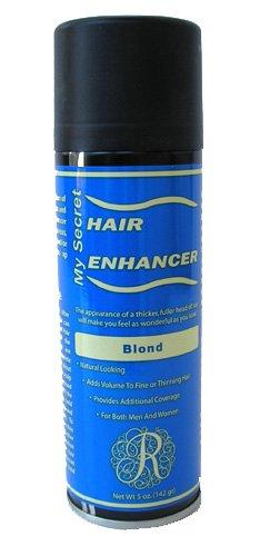 12 Pack My Secret Hair Enhancer Spray 5oz Blond with 2 Free Travel Shampoo 2oz by My Secret