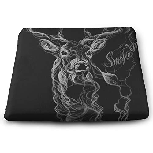 Comfortable Seat Cushion Chair Pad Smoke-Deer Perfect Memory Foam Cushions Lighten The Bumps ()