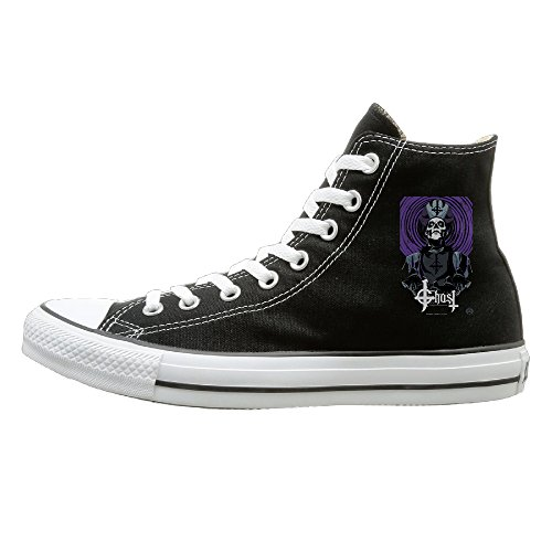 HoHo B017TOUU5O-Band Ghost Bc Druid Stone Poster Casual Unisex Black High-tops Canvas Shoes