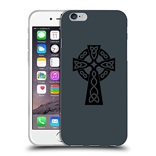 GoGoMobile Coque de Protection TPU Silicone Case pour // Q07850606 Christian Cross 10 Arsenic // Apple iPhone 7