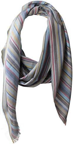 Bufanda de algodón Bufanda de mujer Bufanda de verano Bufanda de hombre gris claro 190 x 52 cm Hecho en Alemania: Amazon.es: Ropa y accesorios