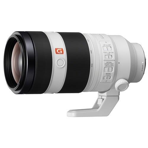 Sony FE 100-400mm f/4.5-5.6 GM OSS E-Mount Lens - Bundle with 77mm Filter Kit, Flex Lens Shade, Cleaning Kit, Capleash II, Lenspen Lens Cleaner, Software Package