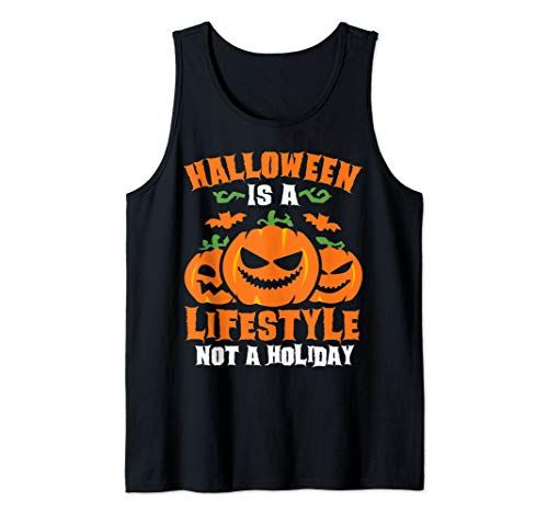 Top 50 Scariest Halloween Costumes (Halloween Is A Lifestyle Funny Halloween Costume Tank)