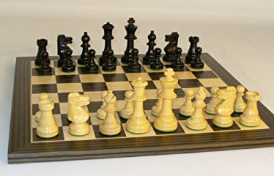 Black French Chess Set