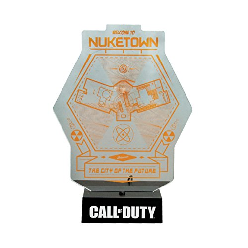 Paladone Official Call Of Duty Nuketown Night Light Lamp   Boxed