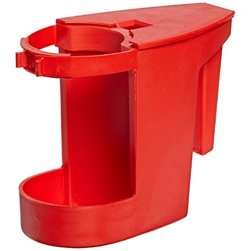 Boss Cleaning Equipment B011103 Red Super Toilet Bowl Caddy