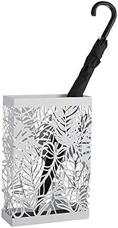 30x12x45 cm Colore Grigio Mascagni Portaombrelli in lamiera//Metal umbrella stand/