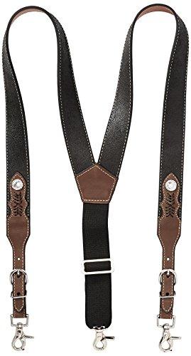 Nocona Belt Co. Mens Top Hand Leather Suspender