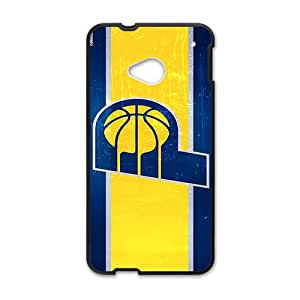 Indiana Pacers NBA Black Phone Case for HTC One M7