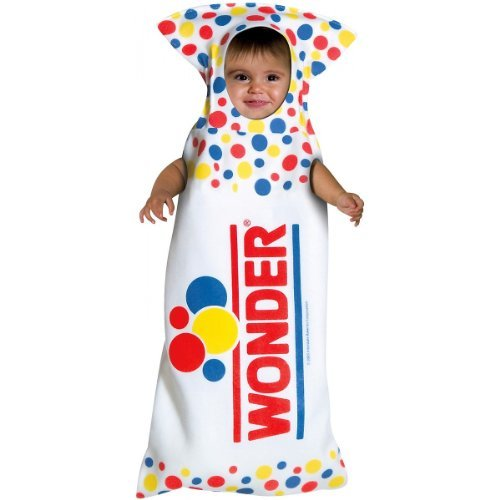 Baby (3-9 Months) Wonder Bread Costume - Officially Licensed TM Costume -