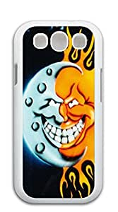 NBcase Half Moon Half Sun hard PC cell phone case for samsung galaxy s3