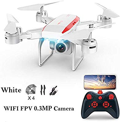 Nearthfr KY606D - Dron aéreo Plegable de Larga duración con ...