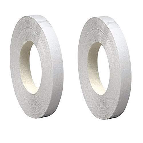 Band-It Melamine Iron-on Edgebanding 38565 x, 3/4'' x 50', White, 2 Pack by Band-It
