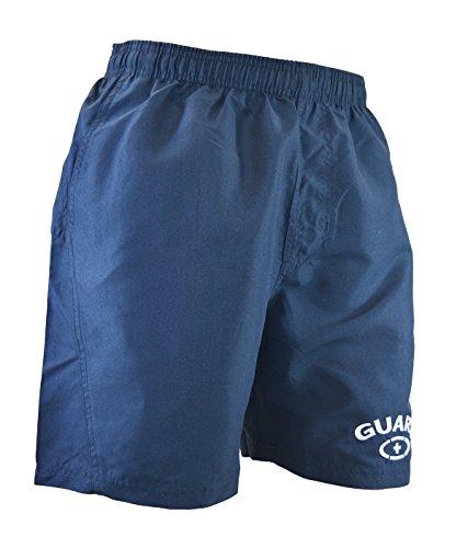 Adoretex Mens 18 Guard Swimwear Board Short Swim Trunk (UMG002) - Navy - Large
