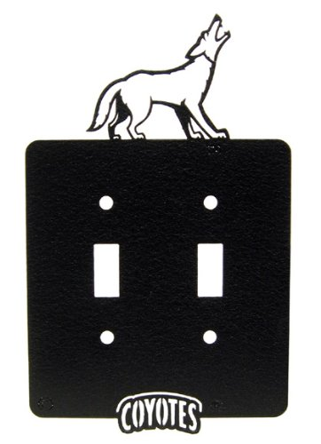 - USD University of South Dakota Coyotes Double Light Switch Plate Cover