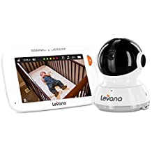 Levana Willow 5inch Touchscreen Video Baby Monitor with PTZ Camera