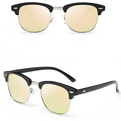 Gafas de 4 Gafas de Gafas Coreanas Sol Color Femeninas Sol polarizadas Delgadas DT XOqwxdRHX