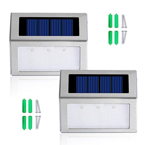 Stainless Steel Solar Lamps in US - 7