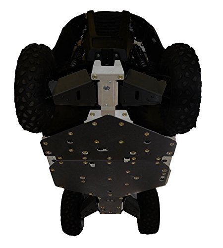 2017 Arctic Cat Wildcat 700 Trail & Wildcat Sport 4-Piece Full Frame Skid Plate Set by Ricochet 790