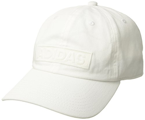 adidas Men's Ultimate Relaxed Adjustable Cap, White, One -