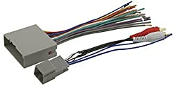 Scosche Fdk11b Wire Harness To Connect An Aftermarket Stereo Receiver For Select 2004-up Fordmercury