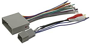 Scosche FDK11B Wire Harness to Connect An Aftermarket Stereo Receiver for Select 2004-Up Ford/Mercury