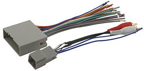 (SCOSCHE FDK11B 2003-08 Ford Premium Sound or Audiophile; Power/Speaker and RCA to Sub Amp Input Connectors Wire Harness)