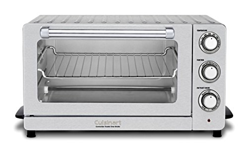 - Cuisinart TOB-60N1 Toaster Oven Broiler with Convection, Stainless Steel