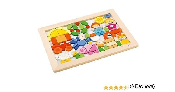 Sevi - Puzzle magnético Granja (Trudi 82078): Amazon.es: Juguetes ...