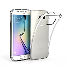Ultra-thin Silicon Protective Transparent Clear Soft TPU Rubber Skin Case for Samsung Galaxy S7/S7 Edge/S7 Plus/S6/S6 Edge/S6 Edge Plus/S5/S4/S3/Note5/Note4/Note3/Note2/A5/A7/Iphone 5/5S iphone 6/6S iphone 6 Plus (Galaxy S6 Edge)