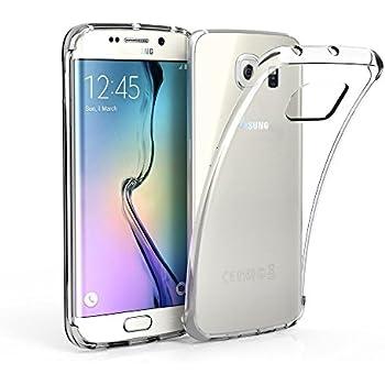 10c5e09df36 ZOFEEL Funda para Samsung Galaxy S6 Edge como el Aire, Carcasa Protectora  Resistente a los