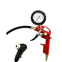 GrimmTools - Universal Bicycle Tire Inflator for Presta and Schrader valves