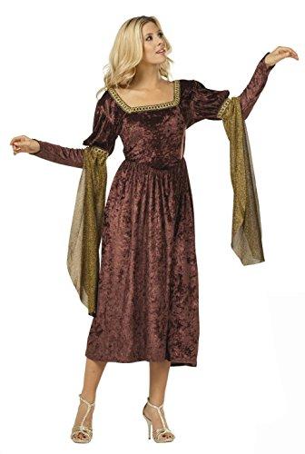 RG Costumes Women's RG Renaissance Princess Adult Female Costume (Burgundy), Bungundy, One Size ()