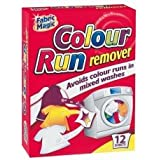 24 Sheets Colour Run Remover/2 packs of 12
