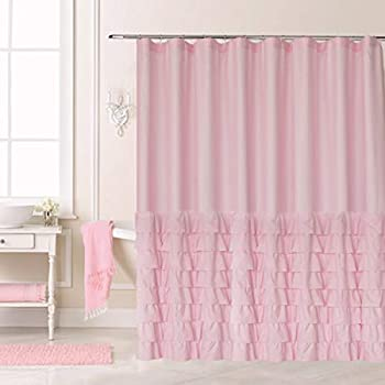 Ameritex Ruffle Shower Curtain Christmas Decor