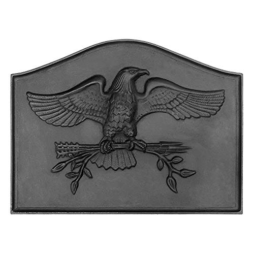 - Minuteman International American Eagle Cast Iron Fireback