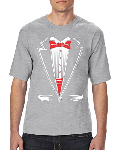 [Artix Tuxedo Fashion Halloween Party People Funny Prom Costume Best Friend Gift Unisex T-Shirt Tall Sizes 2X-Large Tall] (Funny Chemistry Halloween Costumes)