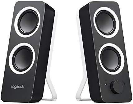 Adjustable Bass Headphone Jack 2 x 3.5mm Inputs Stereo Sound Black /& Z200 PC Speakers 10 Watts Peak Power Logitech MK540 Wireless Keyboard and Mouse Combo Midnight Black