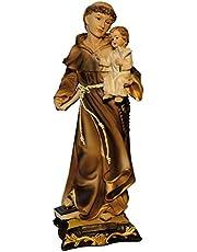 Kaltner Präsente–Regalo Idea–Figura de San Antonio de Padua con el Niño Jesús Sagrada Figura