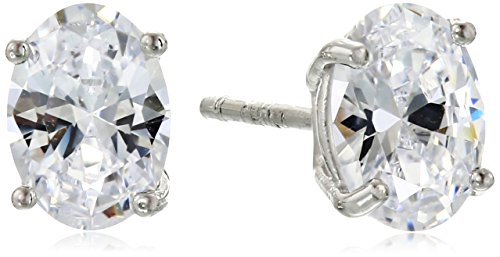 Oval Cubic Zirconia Stud Earrings product image