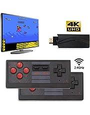 Further - Controlador de caja de juego para TV, mando de juegos de consola práctico, 4 K HDMI para la mayoría de los televisores con interfaz de alta definición