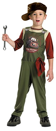 [Morris Costumes TOW MATER MECHANIC STD 4-6] (Abba Jumpsuit Costume)