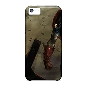 Iphone 5c Cases Bumper Tpu Skin Covers For Captain-america-003 Accessories