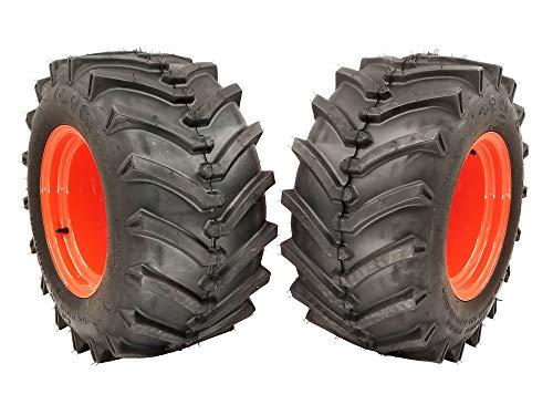 MowerPartsGroup (2) Kubota Wheel Assemblies 24x12.00-12 Repl K2511-17100 Fits BX1800 Series