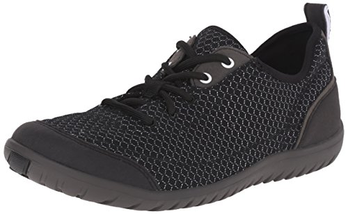 Clarks Womens Ibeeck Lace Walking Shoe Black Mesh