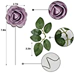 Meiliy-40pcs-Artificial-Flowers-Peony-Lilac-Rose-Heads-Real-Looking-Foam-Peonies-Bulk-wStem-for-DIY-Wedding-Bouquets-Boutonnieres-Corsages-Centerpieces-Wreath-Supplies-Cake-Flower-Decorations